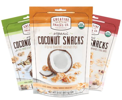 Organic Coconut Snacks Variety Pack