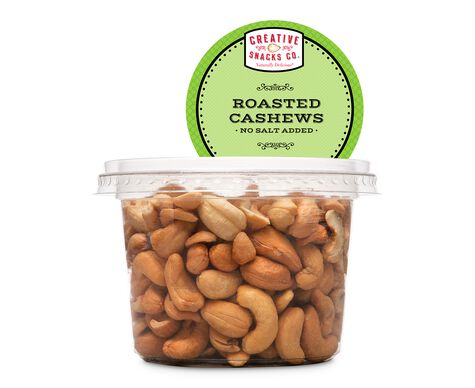 Roasted, No Salt Cashews