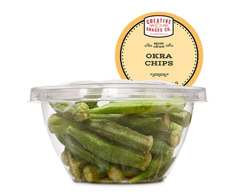 Okra Chips