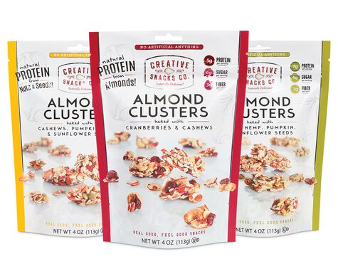 Almond Clusters Variety Pack