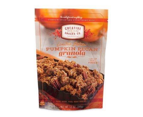 Pumpkin Pecan Granola Clusters