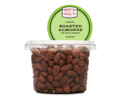 Roasted, No Salt Almonds