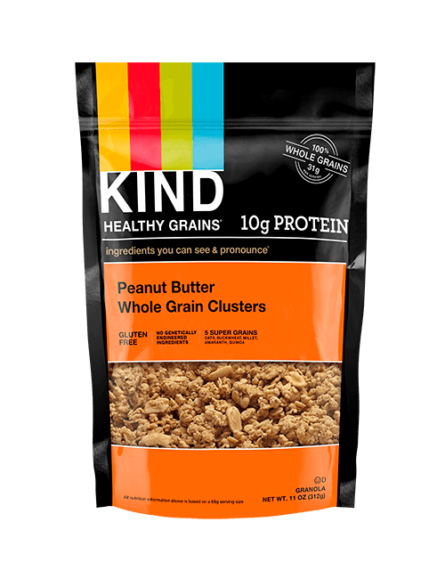 Peanut Butter Whole Grain Clusters Granola